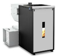 FORCED-AIR THREE CORN WOOD PELLET MULTIFUEL FURNACE STOVE ...