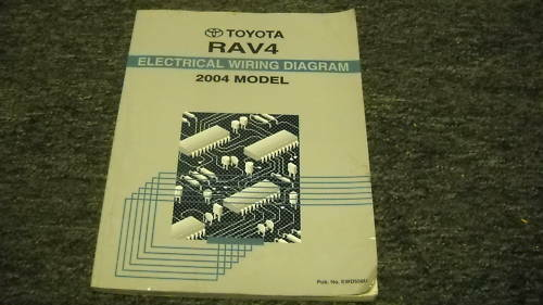 2004 Toyota Rav4 RAV 4 Electrical Wiring Diagram EWD Service Shop