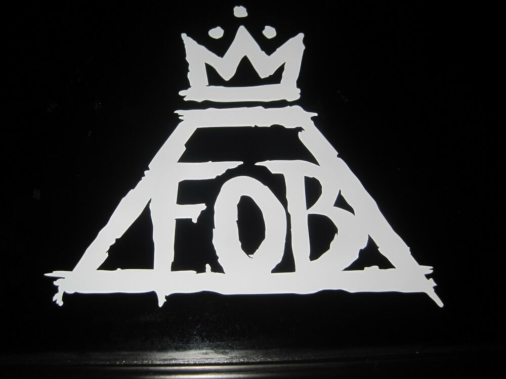 Free Fall Color Wallpaper Fall Out Boy Fob Band Logo Music Vinyl Decal Sticker Car