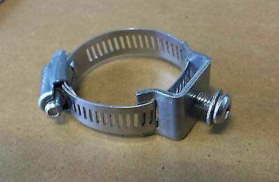Stainless Steel Mount Bracket w/ hose clamp