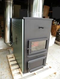 FORCED-AIR ONE CORN WOOD PELLET MULTIFUEL FURNACE STOVE | eBay