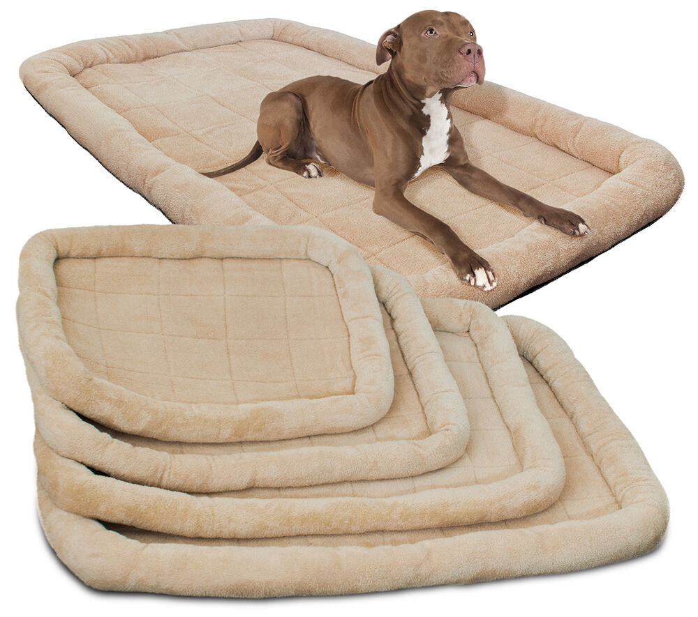 Oxgord Pet Bed Cushion Mat Pad Dog Cat Cage Kennel Crate