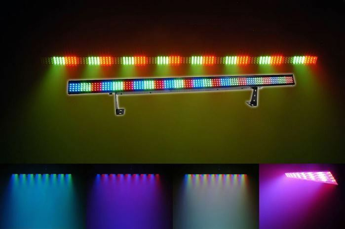 Led Stage Lighting Ebay Chauvet Colorstrip 4 Channel Dmx Led Multi-color Dj Light