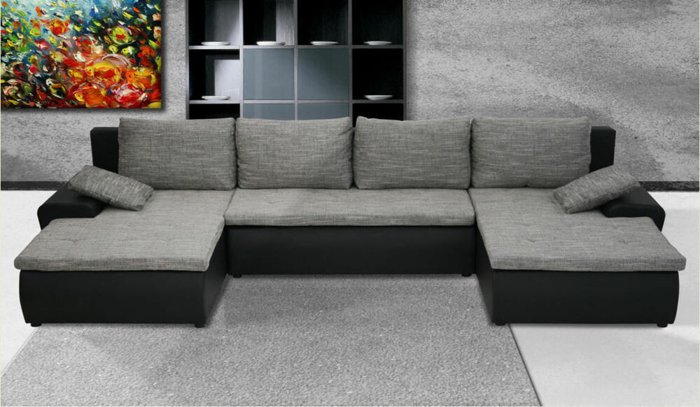Sofas U Form Couchgarnitur U Form Sofa Mit Schlaffunktion Sofagarnitur