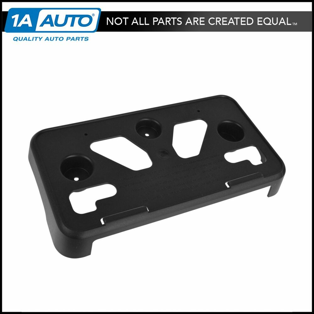 Oem 20809871 Front Bumper Mounted License Plate Mounting
