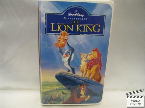 the lion king 1995 vhs version 4