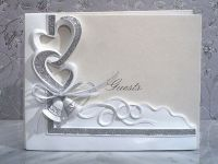 Wedding Bells Guest Book Pen Set Wedding Guests Sign book ...