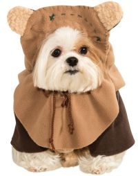 Dog Star Wars Ewok Pet Dress Up Funny Halloween Costume | eBay