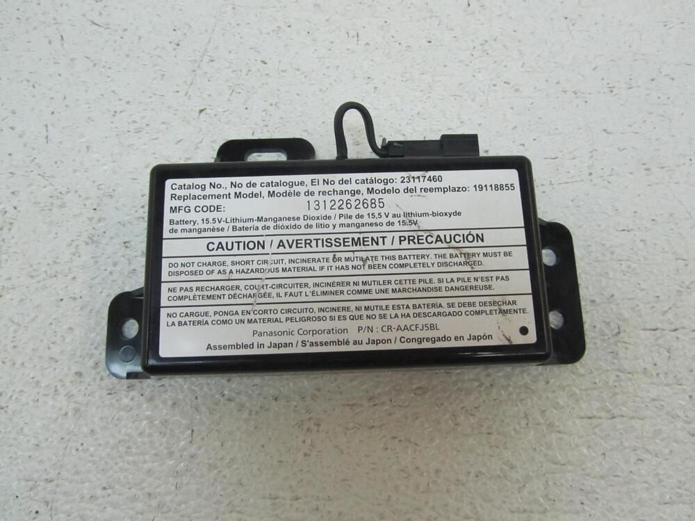 13-14 CHEVY SONIC Backup Back Up OnStar Lithium Ion Module Battery