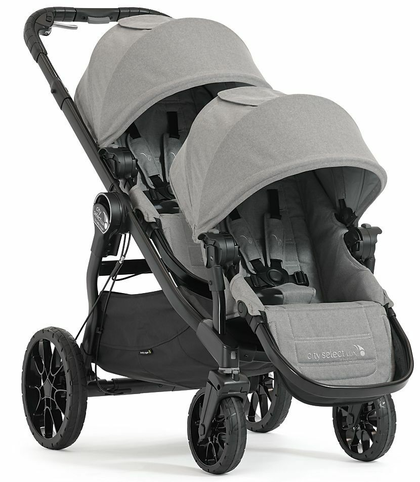Baby Jogger City Select Video Baby Jogger City Select Lux Twin Tandem Double Stroller
