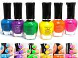 Kleancolor Nail Polish Neon Colors Lot Of 6 Lacquer Neon Collection 01 836558000144 Ebay