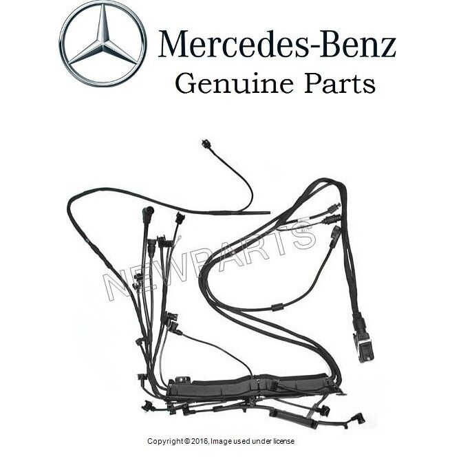 details about mercedes w124 e320 9495 engine wiring harness new