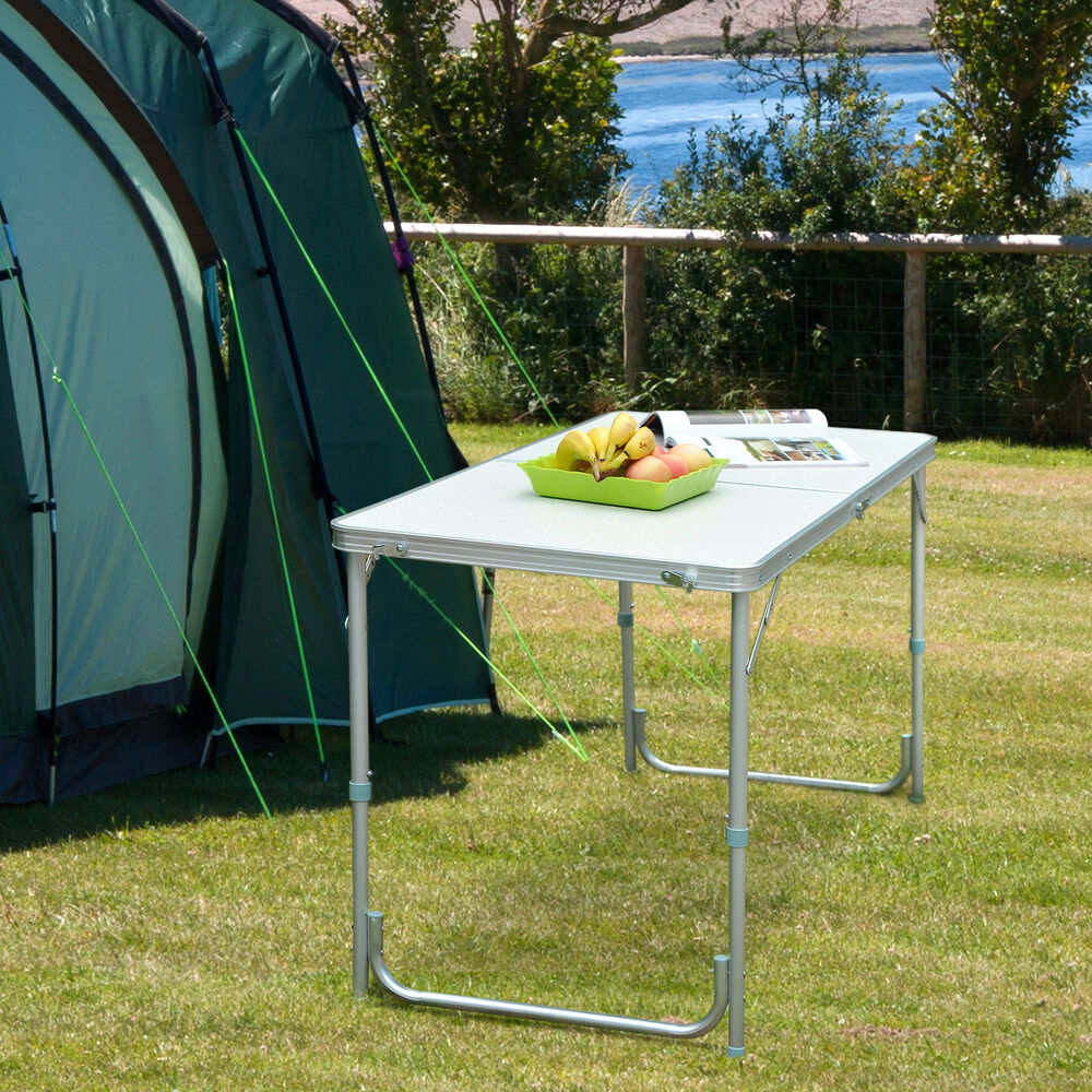 Portable Folding Camping Picnic Table Party Kitchen