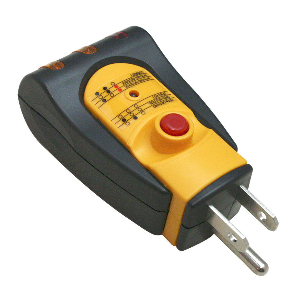 Installerparts Ac Gfci Outlet Circuit Tester Auto Electrical Greenlee Receptacle Gfi Voltagecontinuity Pricefalls 3 Wire Wall Plug
