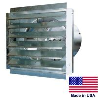 "24"" Commercial Exhaust Fan & Shutters"