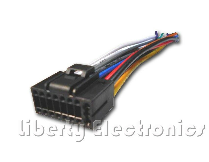 New 16 Pin AUTO STEREO WIRE HARNESS PLUG for JENSEN VM9214 Player eBay