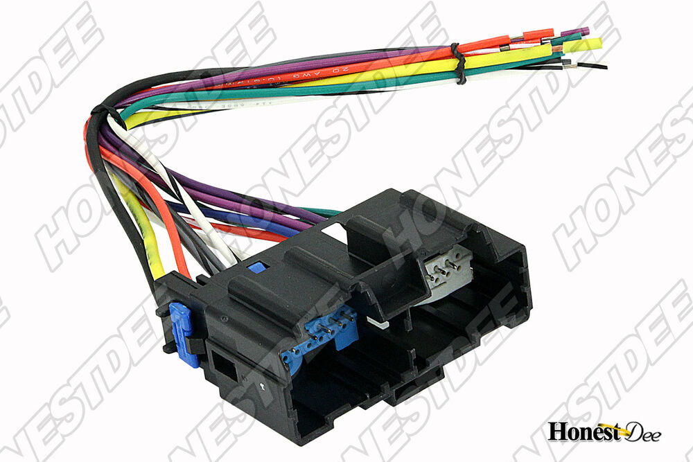 Metra 70-2104 Aftermarket Radio to GM Wiring Harness, Car Stereo