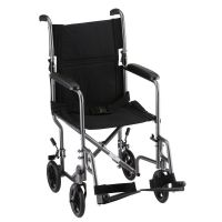 NOVA Medical Products 307/309 Steel Transport Chair, 17 or ...