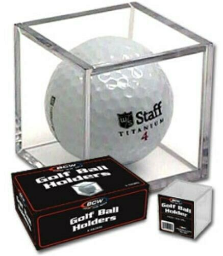 One 1 Bcw Polystyrene Golf Ball Square Holder Stackable