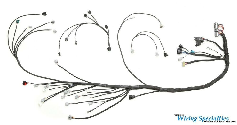 Wiring Specialties Engine Tranny Harness for 1JZGTE into S14 240SX