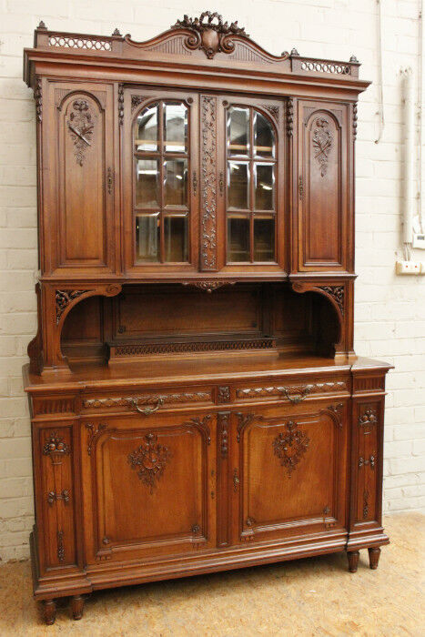 Sideboard Vitrine 5506068 : Antique French Louis Xvi Style Walnut Buffet