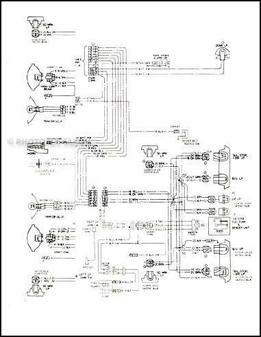 1978 Malibu Classic and Monte Carlo Wiring Diagram 78 Chevy