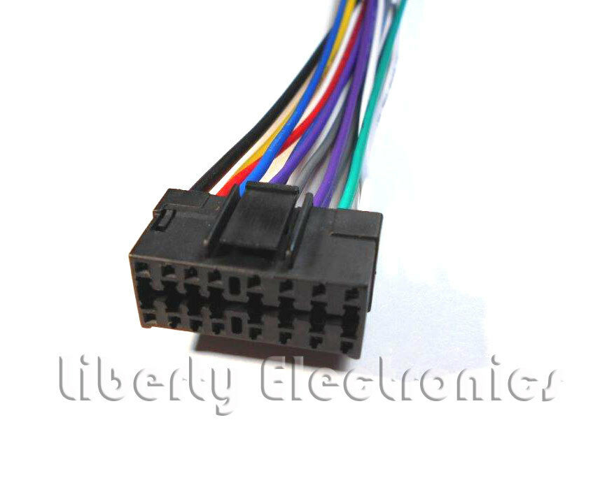 New 16 Pin Auto Stereo Wire Harness for JVC KD-G300 / KD-G310 / KD