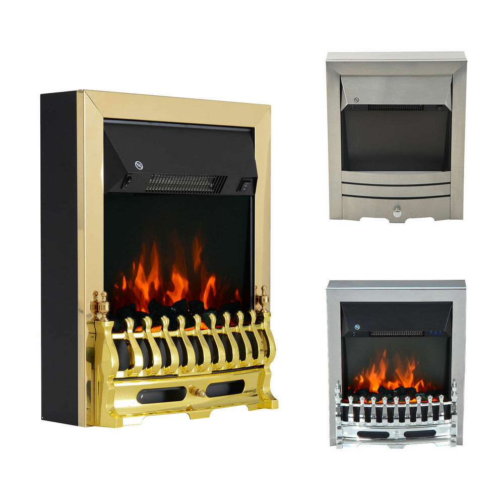 Modern Electric Fireplace 1 2kw Led Fire Place Effect