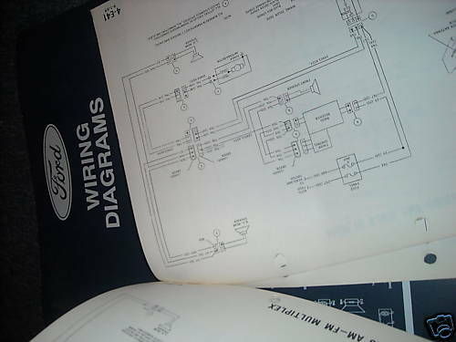 1994 FORD F600 F700 F800 COWL TRUCKS WIRING DIAGRAMS MANUAL SHEETS