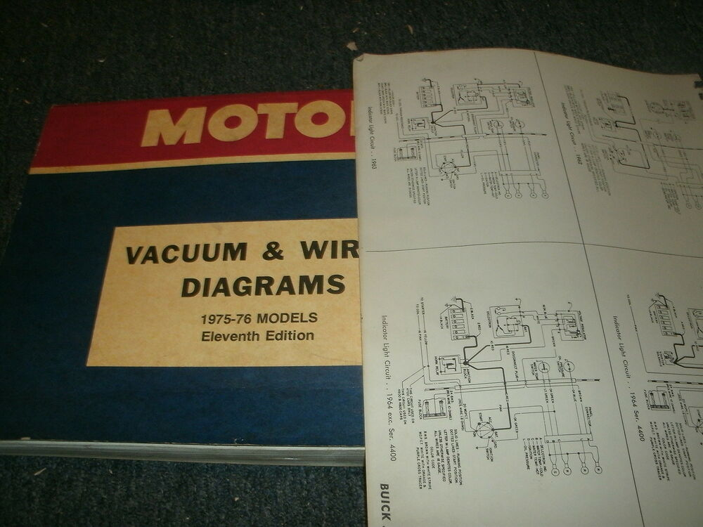 1975 1976 FORD PINTO MERCURY BOBCAT COMPLETE FACTORY WIRING DIAGRAMS