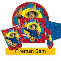 FIREMAN SAM - Birthday Party Range - Tableware Balloons ...