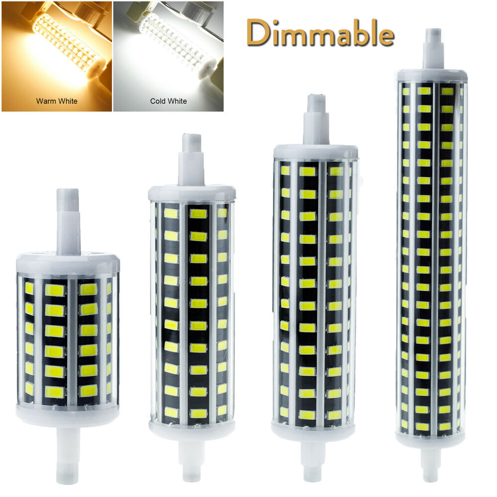 R7s Led Dimmable Lampada Led R7s 118mm 20w