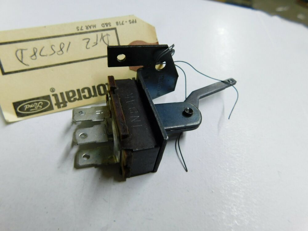 NOS 1971 1972 FORD PINTO HEATER CONTROL SWITCH