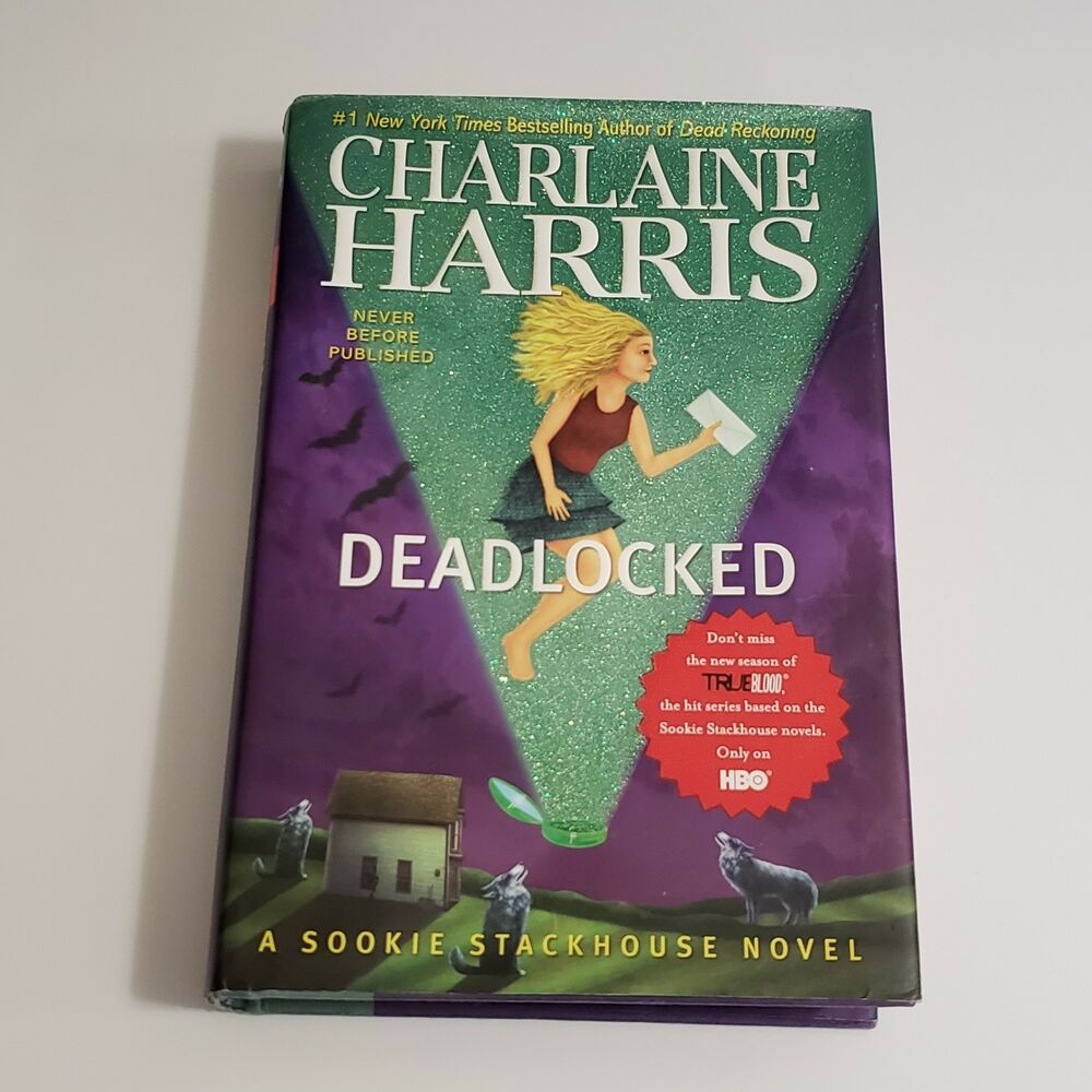 Charlaine Harris Libros Charlaine Harris Deadlocked Sookie Stackhouse Book 12 Hardcover