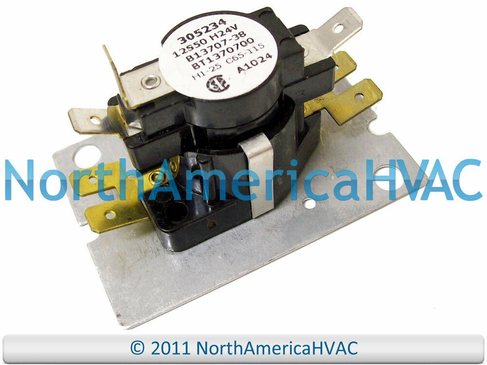 Amana Goodman Blower Motor Relay Fan C65-115 305234 eBay