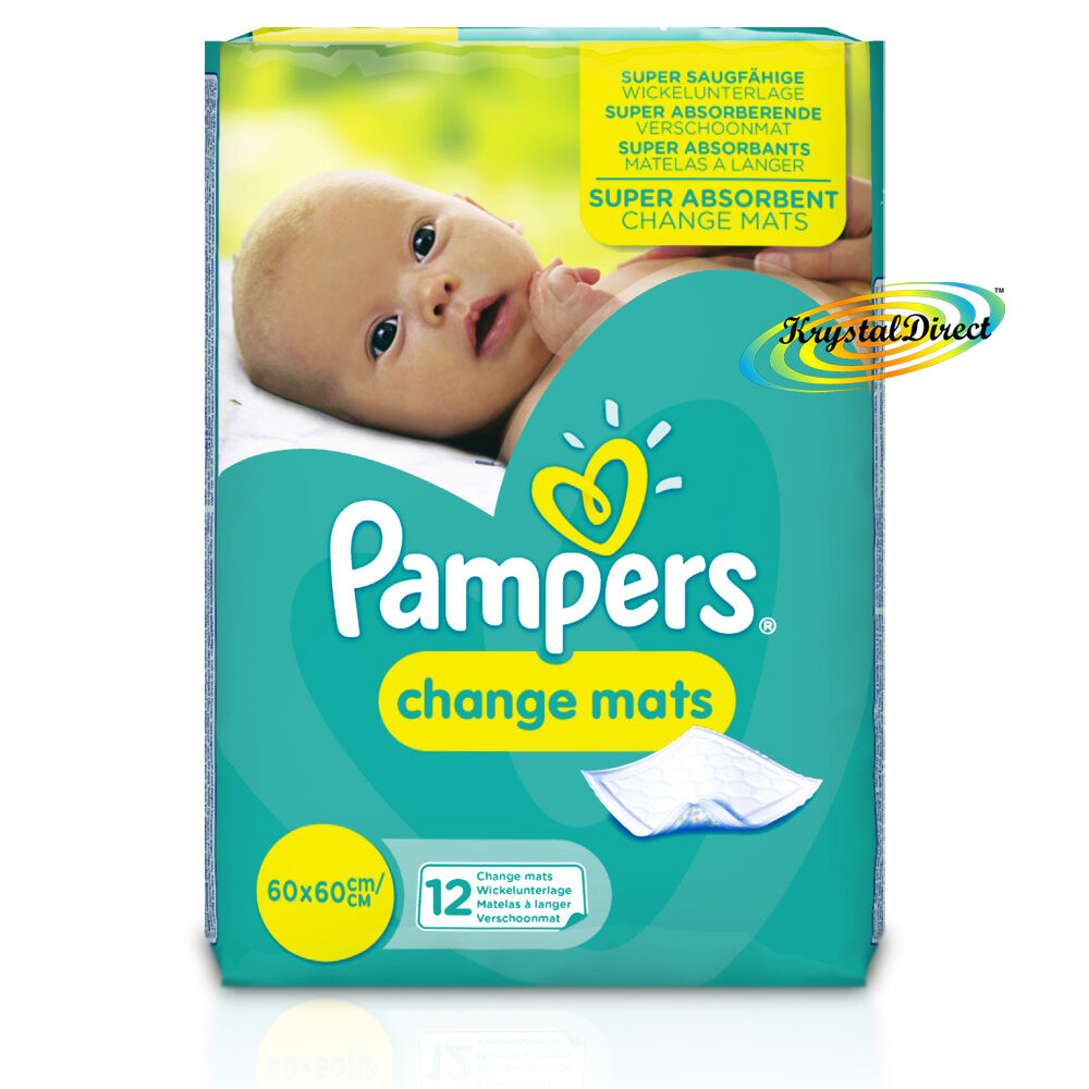 Pampers Super Absorbent Baby Children Disposable Change - Baby Change Mats