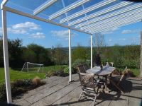 Aluminium Glass Clear Canopy, Patio cover, Carport ...