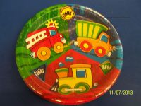 Fire Engine Birthday Plates, Fire, Free Engine Image For ...