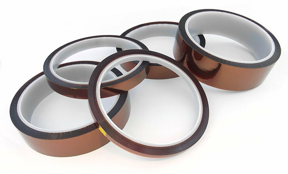 33m 100ft High Temperature Kapton Polyimide Heat Tape