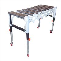 Adjustable Expandable Gravity Wheel 9 Roller Conveyor
