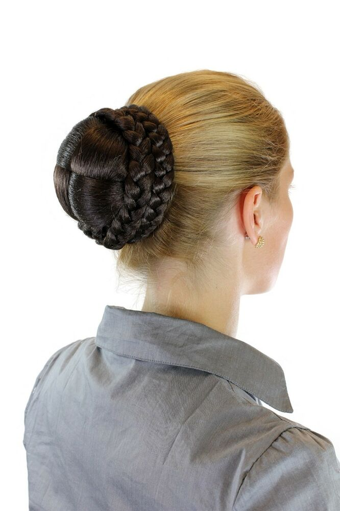 Hair piece braided Braid Bun Knot Of Hair Traditional