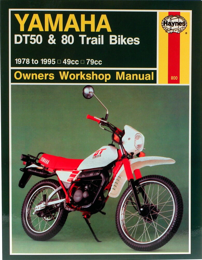 Haynes Manual 0800 - Yamaha DT50  DT80 (78 - 95) workshop/service