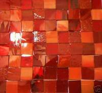 100 Valentine Mosaic Tile Handcut Stained Glass Craft | eBay