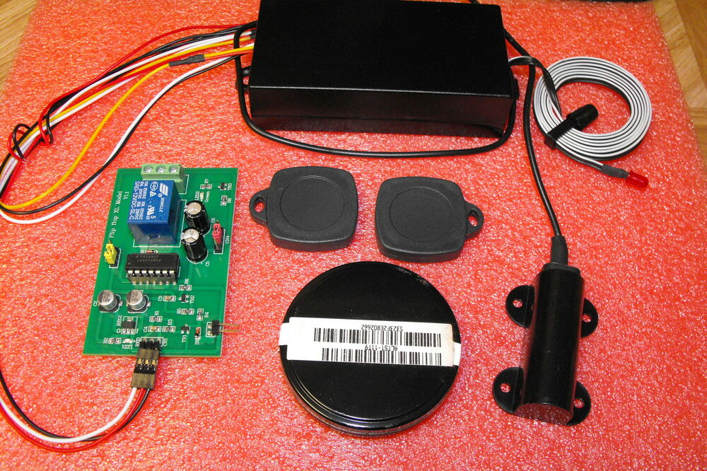 RFID Reader transponder access control 3 mode relay momentery and