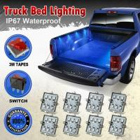 8pc Waterproof Pickup Truck Bed Light Kit LED Lighting ...