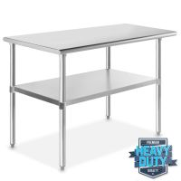 Stainless Steel Commercial Kitchen Work Food Prep Table ...