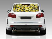 Minion Car Window Decals | Car Interior Design