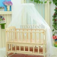 Round Dome Baby Bed Mosquito Mesh Curtain Net for Toddler ...