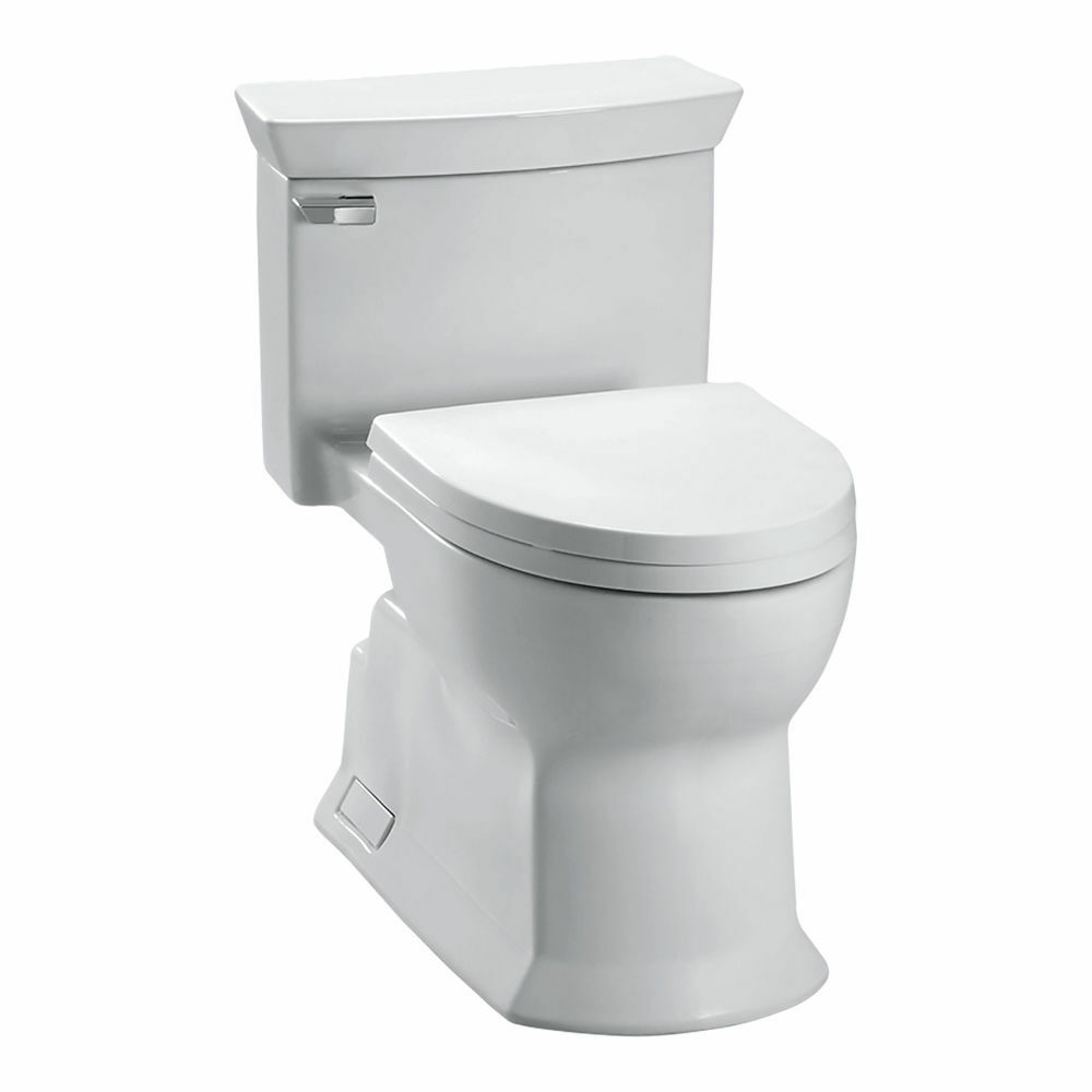 Toilette Toto Toto Eco Soire One Piece Elongated 1 28 Gpf Universal Height Skirted Toilet With Ebay
