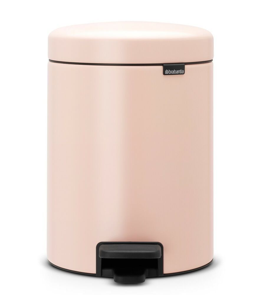 Mülleimer Bad Rosa Brabantia Treteimer Newicon 5l In Clay Pink Mülleimer Bad Wc